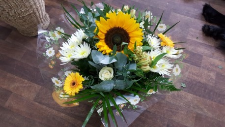 Sunflower Hand Tied