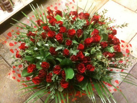 Passion 100 red roses